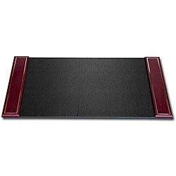 Dacasso 24k Gold-tooled Leather Desk Pad