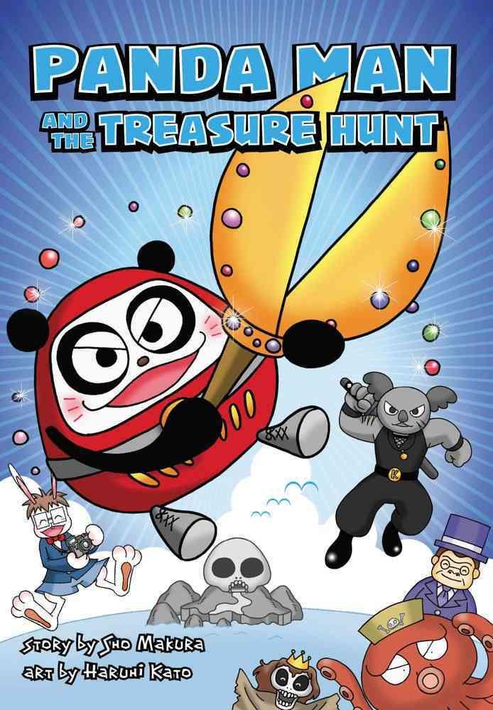 Panda Man and the Treasure Hunt (Paperback)
