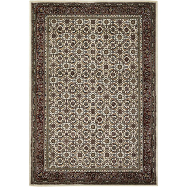 Artist's Loom Hand-knotted Traditional Oriental Wool Rug (9'x13')
