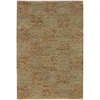 Artist's Loom Hand-woven Wool Shag Rug (7'9x10'6) - 7'9 x 10'6