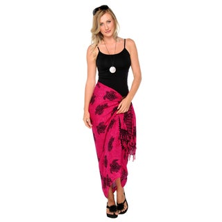 Handmade 1 World Sarongs Women's Turtles Sarong (Indonesia)