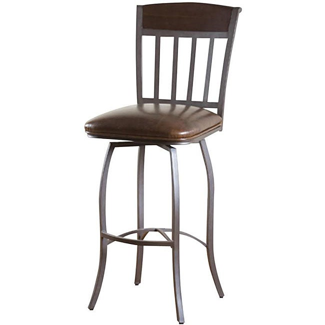 Grayford 24 Inch Swivel Counter Stool Free Shipping