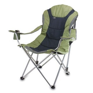 Link to Picnic Time Sage Green Steel Frame Polyester Reclining Camp Chair Similar Items in Camping & Hiking Gear