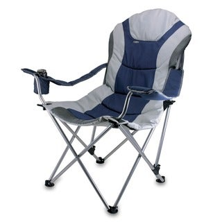 Link to Picnic Time Navy Reclining 3-position Folding Camp Chair Similar Items in Camping & Hiking Gear