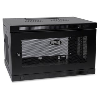 Tripp Lite 6U Wall Mount Rack Enclosure Server Cabinet w/ Door & Side