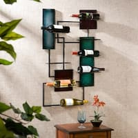 The Curated Nomad Sansome Wine Storage Wall Sculpture