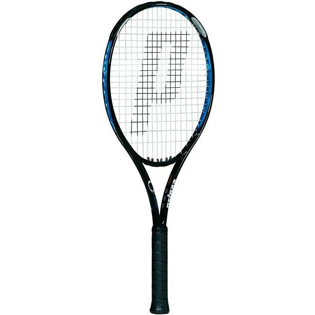 Prince 'O3 Blue' Strung Tennis Racquet
