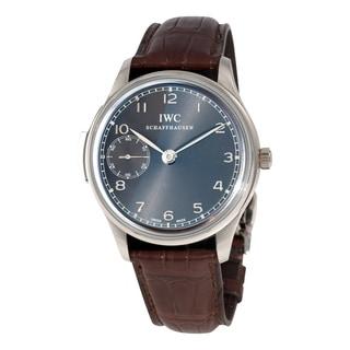 iwc menu0027s iw524205 portuguese minute repeater white gold watch