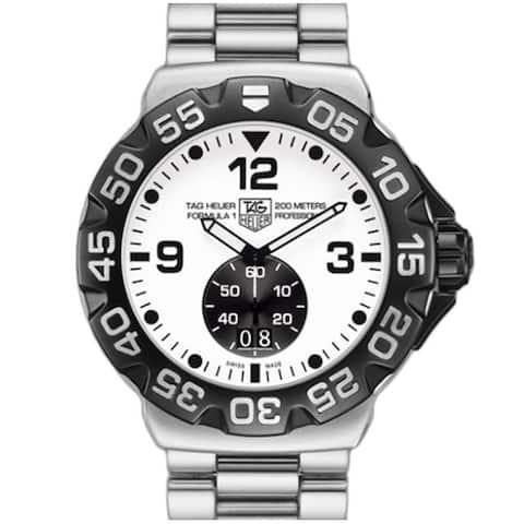 Tag Heuer Men's WAH1011.BA0854 'Formula 1 Grande' Stainless Steel Watch