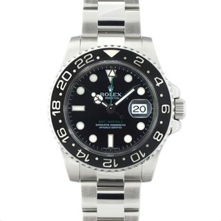 Pre-Owned Rolex Men's GMT Master II Ceramic Bezel Watch
