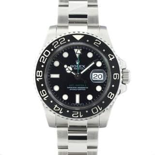 Pre-Owned Rolex Men's GMT Master II Ceramic Bezel Watch|https://ak1.ostkcdn.com/images/products/4874897/P12756938.jpg?impolicy=medium