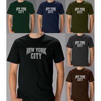 Los Angeles Pop Art Men's 'New York City' T-shirt