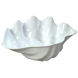 Carlisle Foodservice Medium White Clam Shell