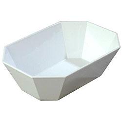 Carlisle Foodservice 2.5-pound White Octagonal Crocks (Pack of 6)