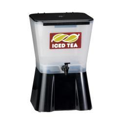 Tablecraft 3-gallon White/ Black Ice Tea Dispenser