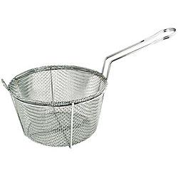 Admiral Craft 8.5-inch 4-mesh Round Fry Basket