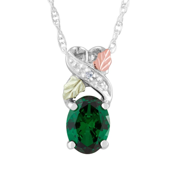 crystal glass birthstone baron february product pendant