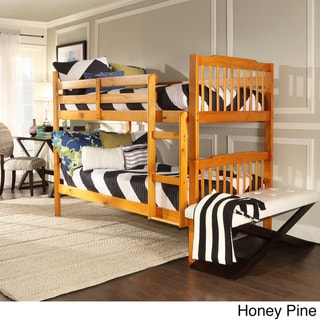 IQ KIDS Simone Twin and Twin Bunk Beds
