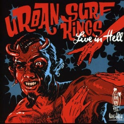 URBAN SURF KINGS - LIVE IN HELL