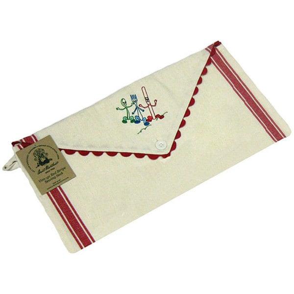 Vintage Stripe Sewing Sack