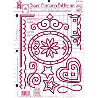Shop Hot Off The Press Paper Piercing Patterns Template