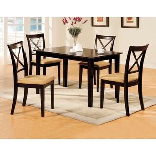 Furniture of America Rimini Espresso 5-piece Dinette Set