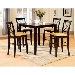 Furniture of America Magri 5-piece Counter-height Dinette Set