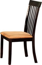 Furniture of America Botany Dark Cherry Dining Chairs (Set of 2)