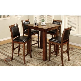 Furniture of America Walwick Counter-height Stools (Set of 2)