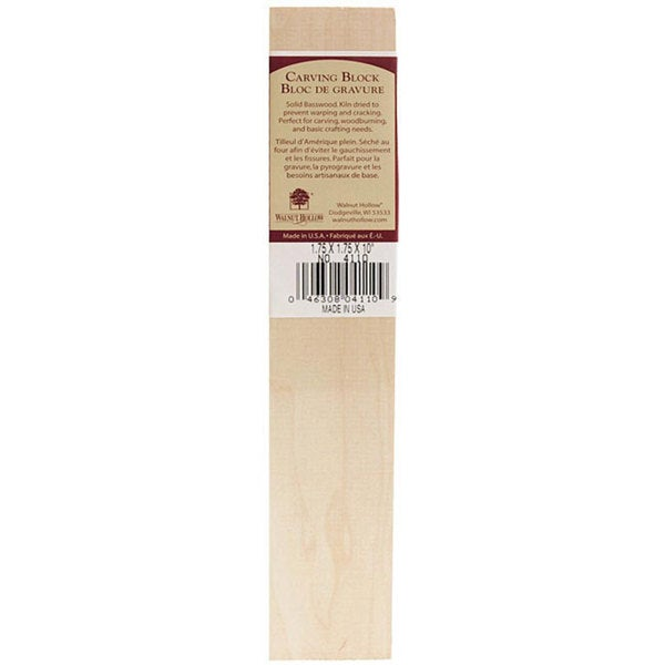 Walnut Hallow 10-inch Carving Block