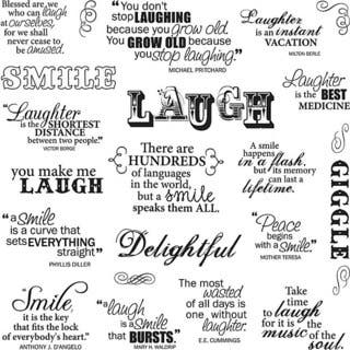 Fiskars Laugh With Me 8x8 Quote Clear Stamps|https://ak1.ostkcdn.com/images/products/4892679/P12786038.jpg?impolicy=medium