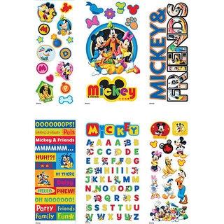Disney Mickey and Friends Value Sticker Set