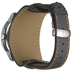 Tissot Men's T96146832 T-Navigator Stainless Steel Leather Digital Watch