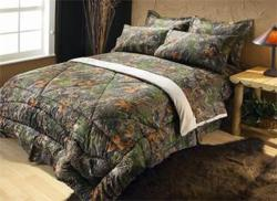 Camo King-size Bed in a Bag with Sheet Set
