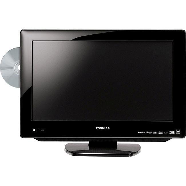 Toshiba 19lv61k 19-inch Lcd Hdtv   Dvd Combo  Refurbished  - Free Shipping Today