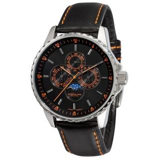 Stuhrling Original Men's 'Artemis' Quartz Moon Watch