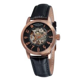 Stuhrling Original Women's Juliet Automatic Rosetone Watch