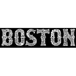 Los Angeles Pop Art Women's Boston T-shirt - Thumbnail 1