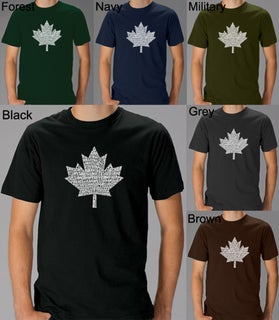 Link to Los Angeles Pop Art Men's 'O Canada' T-Shirt Similar Items in Shirts