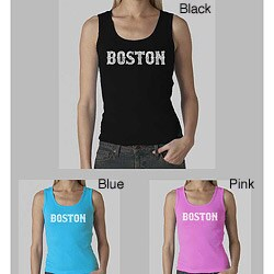 Los Angeles Pop Art Women's Boston Tank Top (More options available)