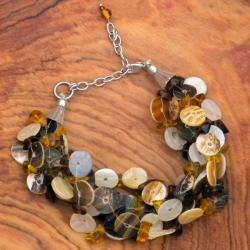 Fine Sea Shell Mother of Pearl Bracelet (India)