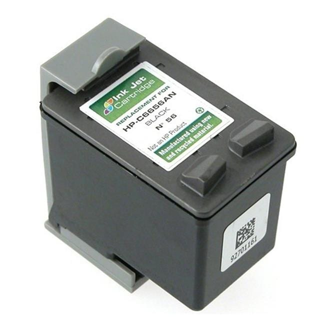Insten HP 56 Black Ink Replacement Cartridge