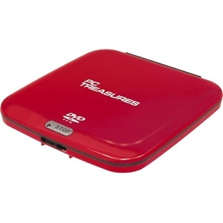 Digital Treasures 07251 External DVD-Reader - Red