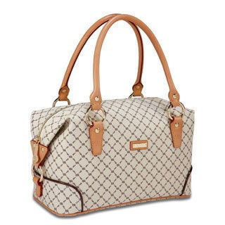Rioni Signature Natural Boston Bag