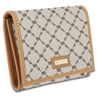 Rioni Signature Natural Tri-fold Wallet