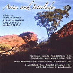 ALLWORTH/GROSS/CARR-BOYD - ARIAS & INTERLUDES