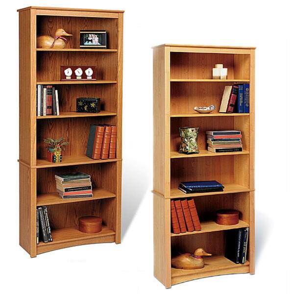 6-shelf Bookcase