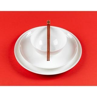 Red Vanilla 16-piece Bone China Coupe Dinnerware Set  sc 1 st  Overstock.com & Bone China Dinnerware For Less | Overstock.com