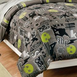 X-Factor Full-size 7-piece Bed in a Bag with Sheet Set - Thumbnail 1