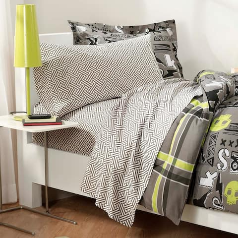 X-Factor Full-size 7-piece Bed in a Bag with Sheet Set